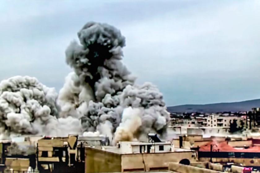 სირიაში ასადის პოზიციების დაბომბვას 50-ზე მეტი ჯარისკაცი ემსხვერპლა