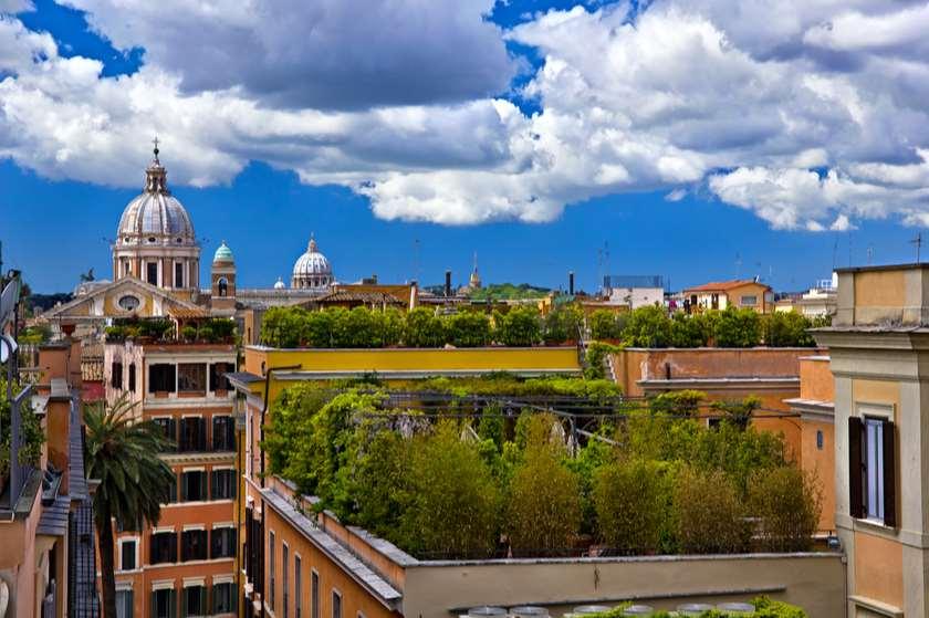 სახურავების გამწვანება რომში