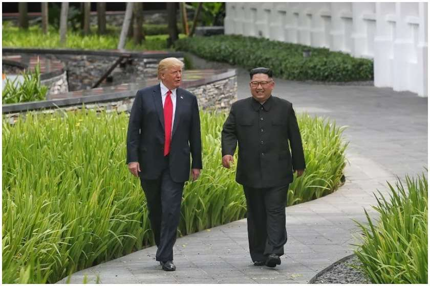 ტრამპმა ჩრდილოეთ კორეაში ადამიანის უფლებების დაცვის შესახებ კანონს ხელი მოაწერა