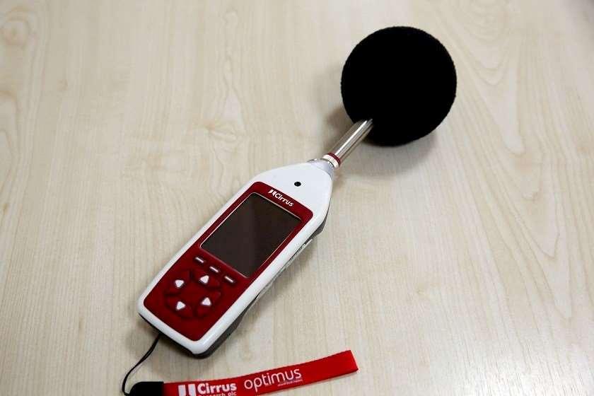 ხმაურის საზომი  მოწყობილობა