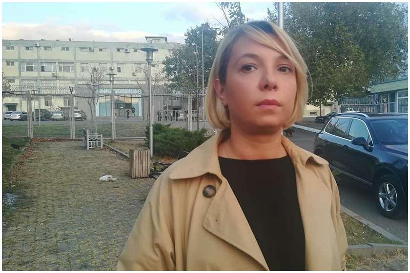 ნინო ლომჯარია მირზა სუბელიანთან ციხეში შევიდა