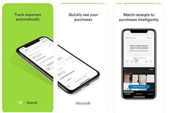 Microsoft Spend app