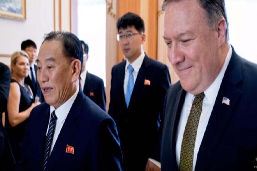 მაიკ პომპეო  ჩრდილოეთ კორეის წარმომადგენლებს რვა ნოემბერს აღარ შეხვდება