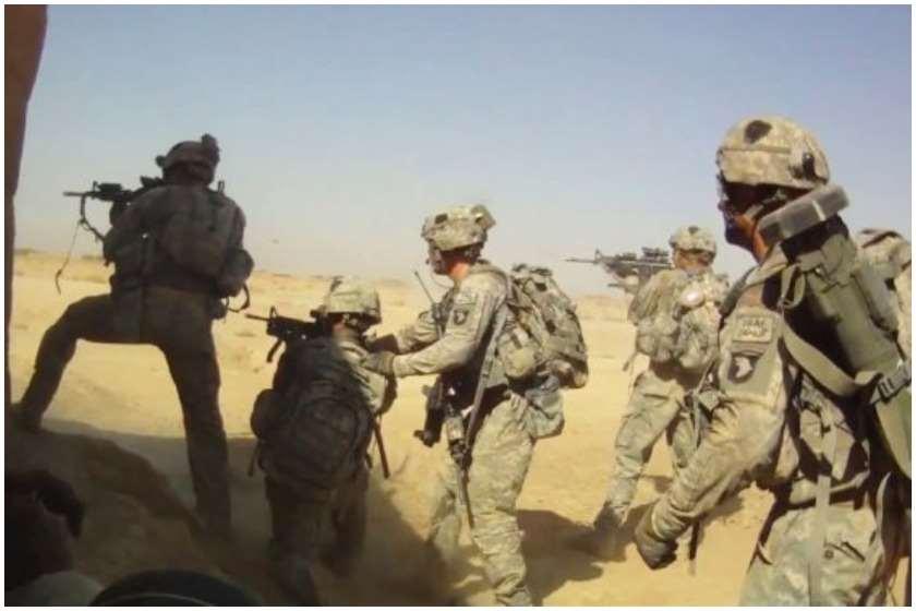 ნატოს ჯარისკაცები ავღანეთში
