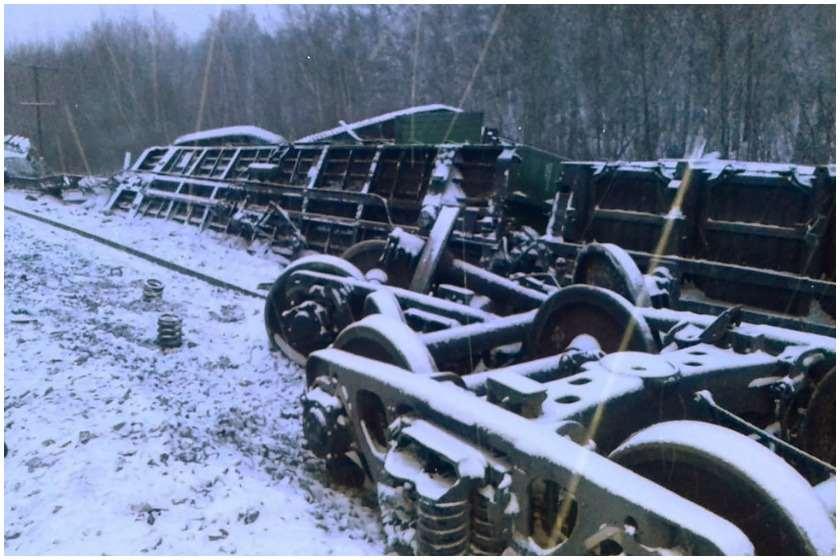 სარკინიგზო ავარია რუსეთში