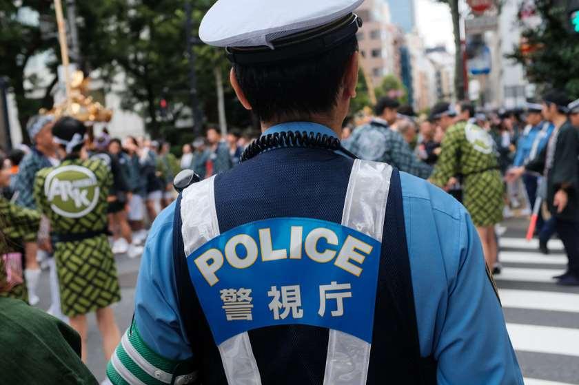 იაპონელი პოლიციელი