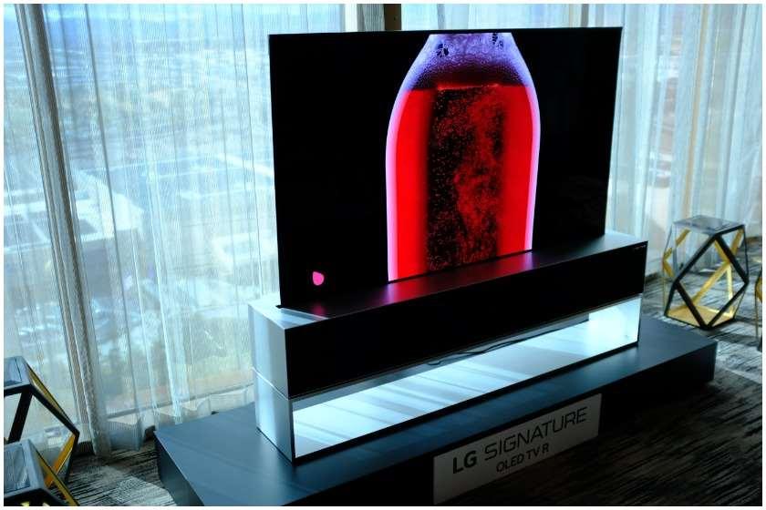 LG-ის დასაკეცი ტელევიზორი