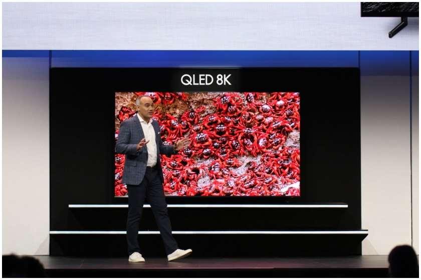 Samsung-ის 8K ტელევიზორი