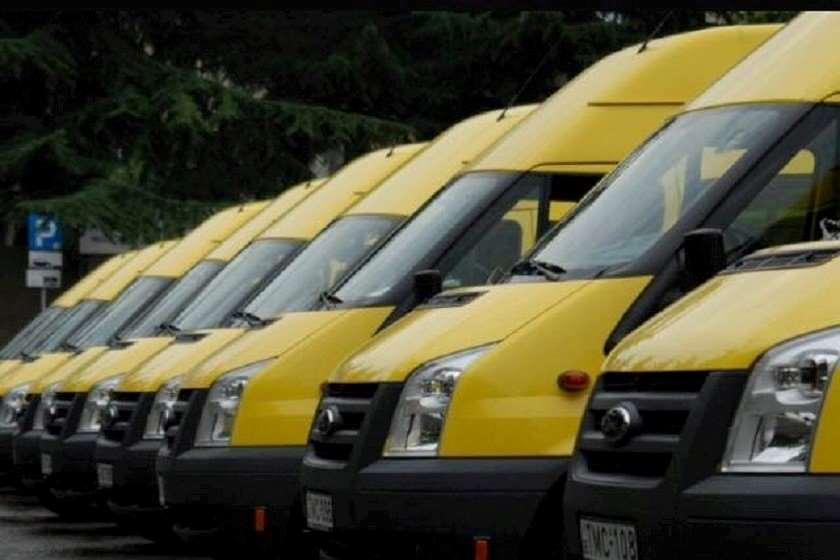 ყვითელი მიკროავტობუსები
