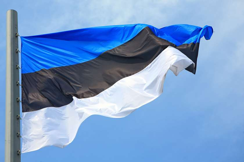 ესტონეთის დროშა