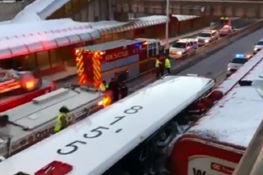 ავტობუსის ავარია კანადაში