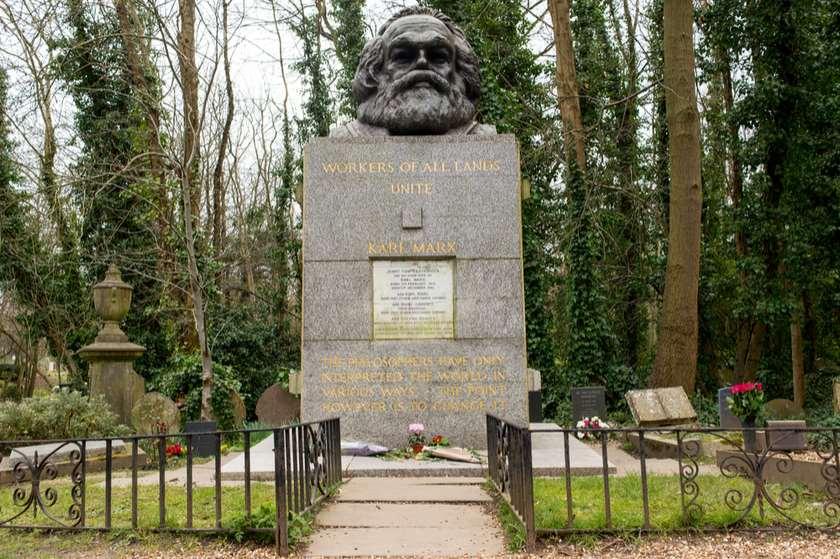 კარლ მარქსის  საფლავი