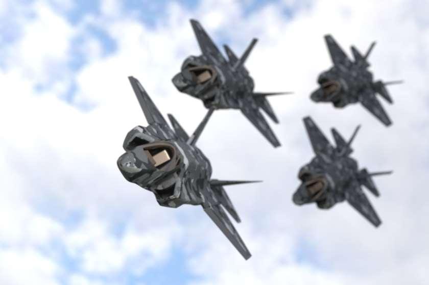 სამხედრო თვითმფრინავი