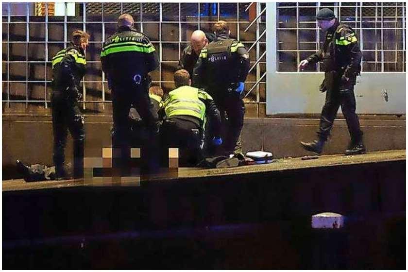 ამსტერდამის პოლიციის სპეცოპერაცია