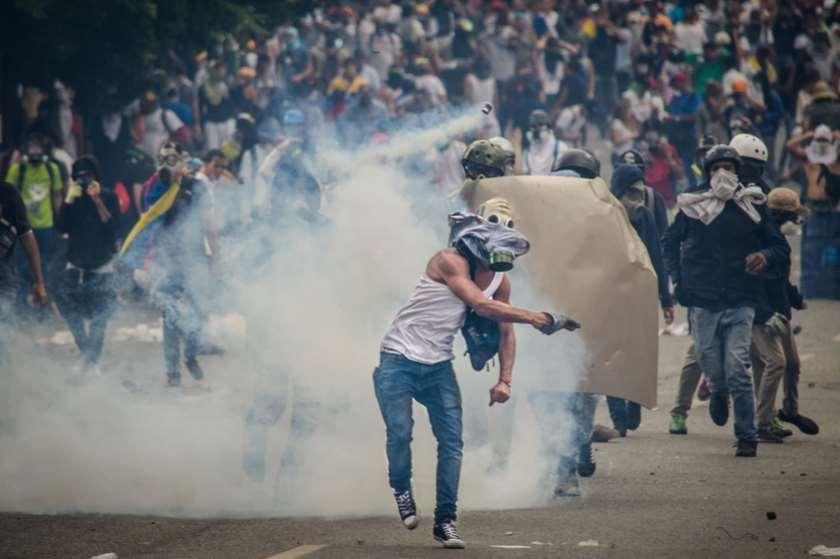 კარაკასი, ვენესუელა, 2017 წლის გამოსვლები