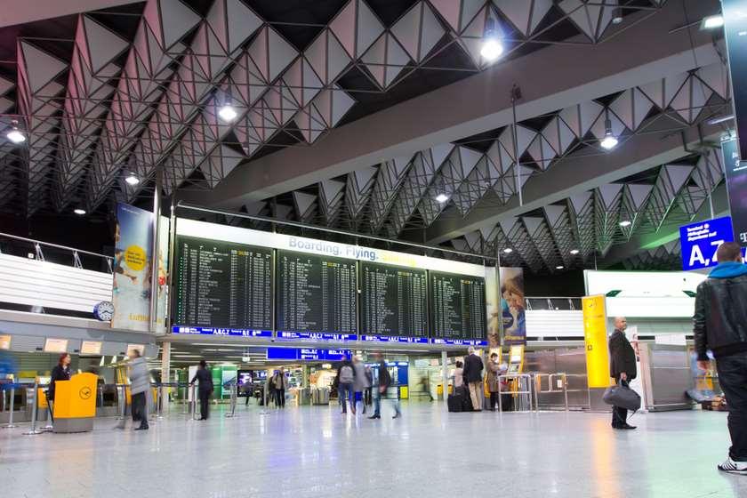 გერმანია, ფრანკფურტის აეროპორტი