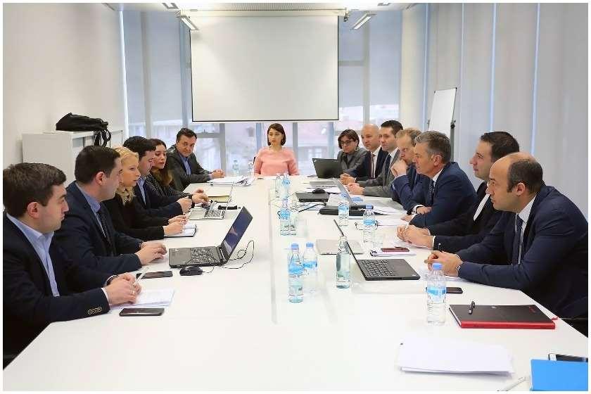 შეხვედრა ინვესტორებთან