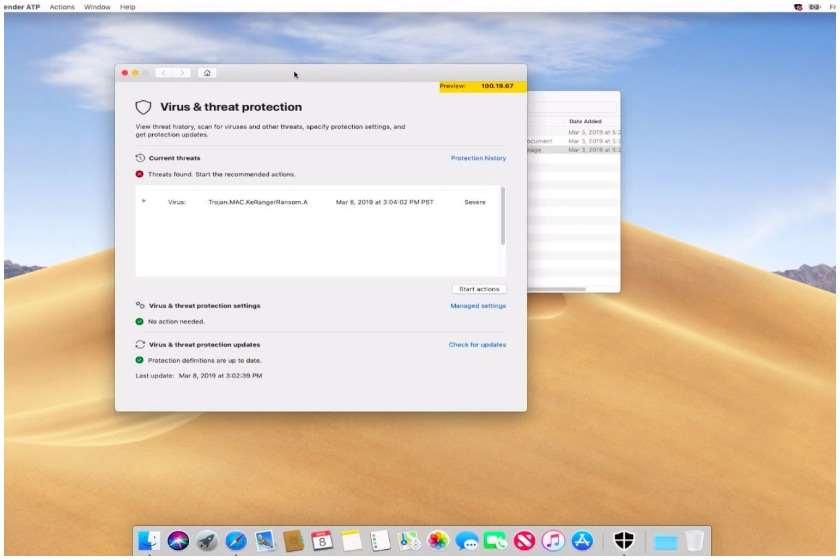 Windows Defender Mac