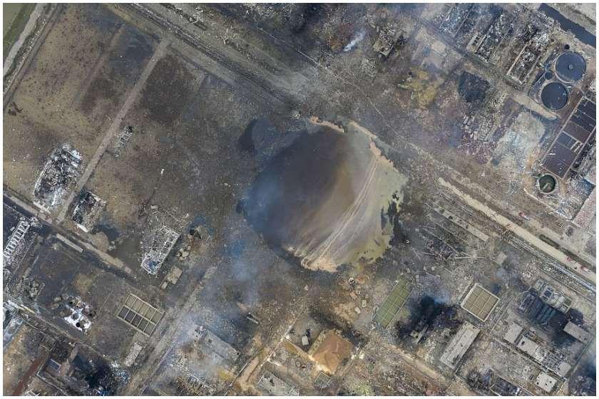 აფეთქება ჩინეთის ქიმიურ ქარხანაში
