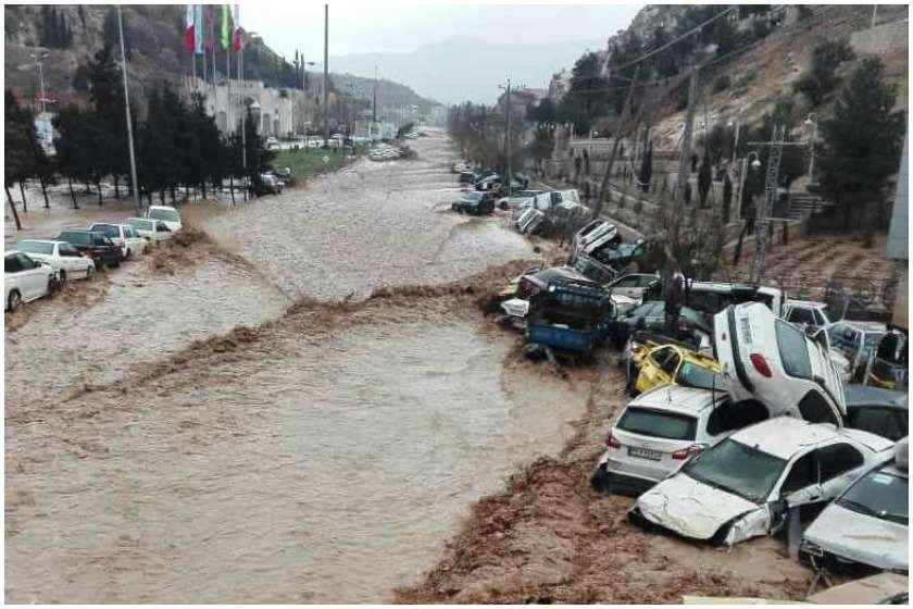 წყალდიდობა ირანში