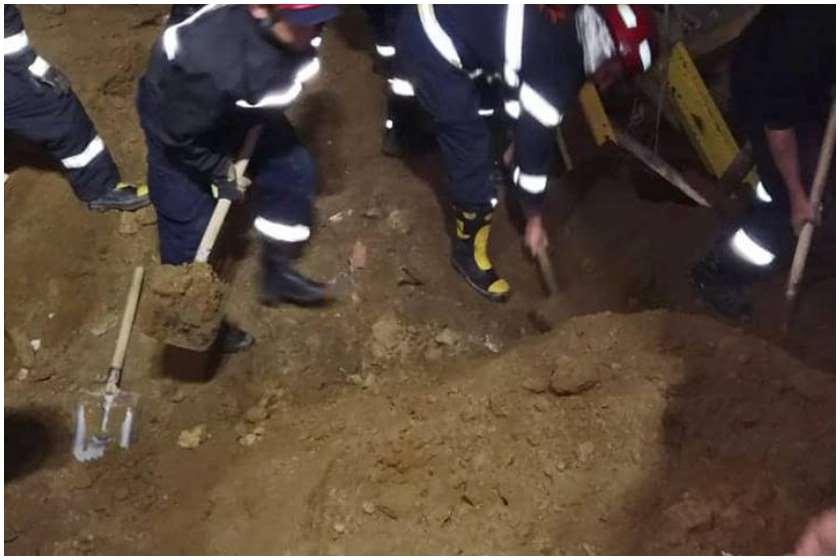 სამწუხარო ინფორმაცია, მაშველებმა ჭავჭავაძის გამზირზე მიწის ქვეშ 25 წლის ახალგაზრდა მამაკაცის ცხედარი იპოვეს