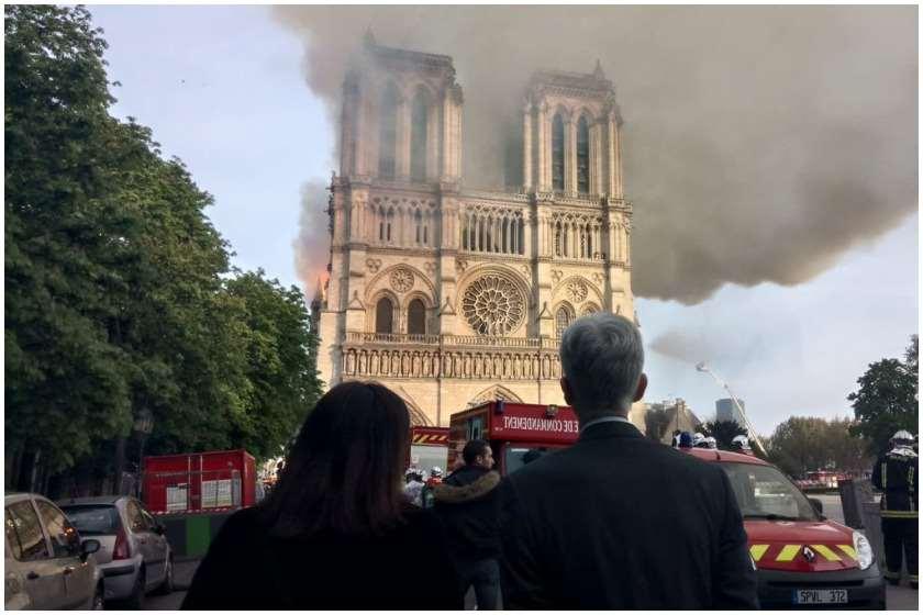პარიზის ღვთისმშობლის ტაძარი შესაძლოა წვიმამ ჩამოანგრიოს