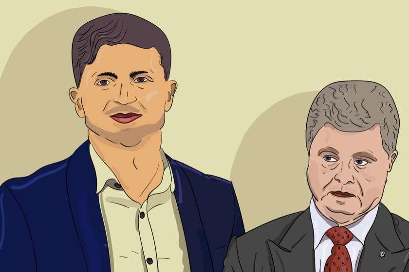 ვლადიმერ ზელენსკი და პეტრო პოროშენკო