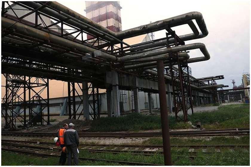 ქიმიური ქარხანა რუსეთში