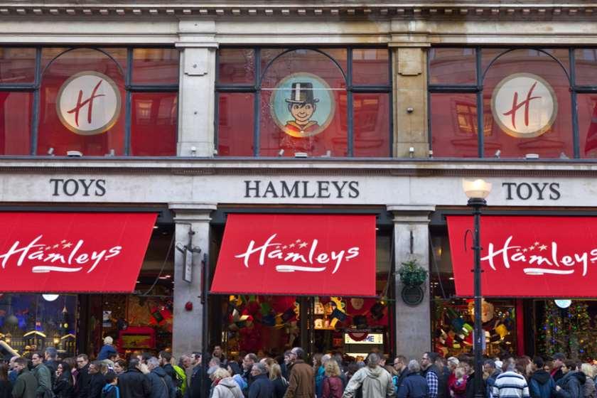 Hamleys-ის მაღაზია