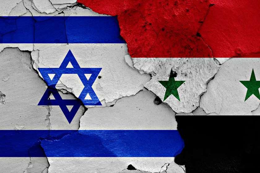 სირიისა და ისრაელის დროშები