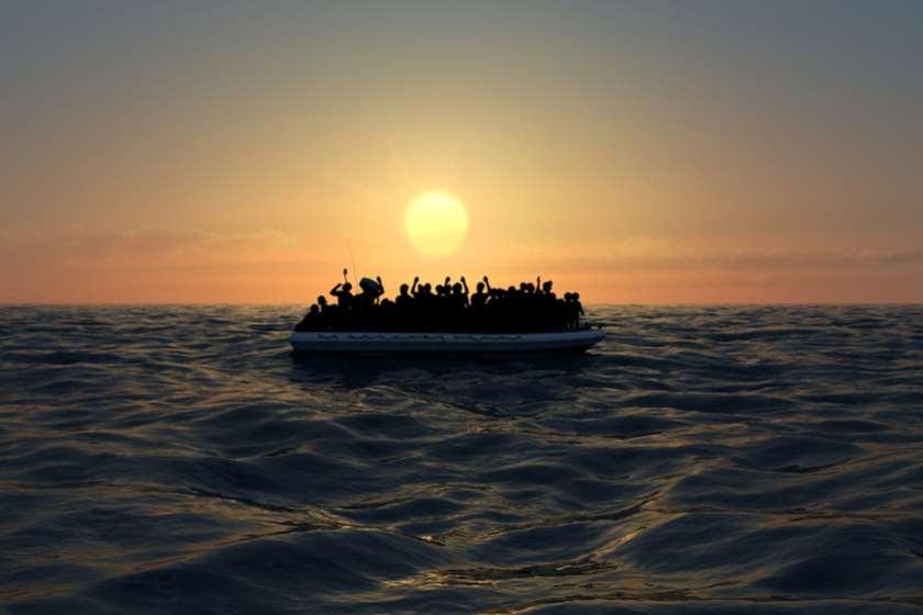 მიგრანტები ზღვაში