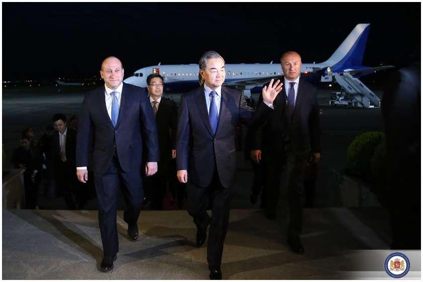 ჩინეთის საგარეო საქმეთა მინისტრი საქართველოში