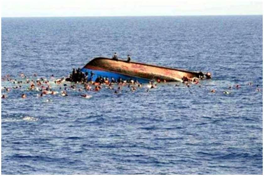 კონგოში გემი ამობრუნდა