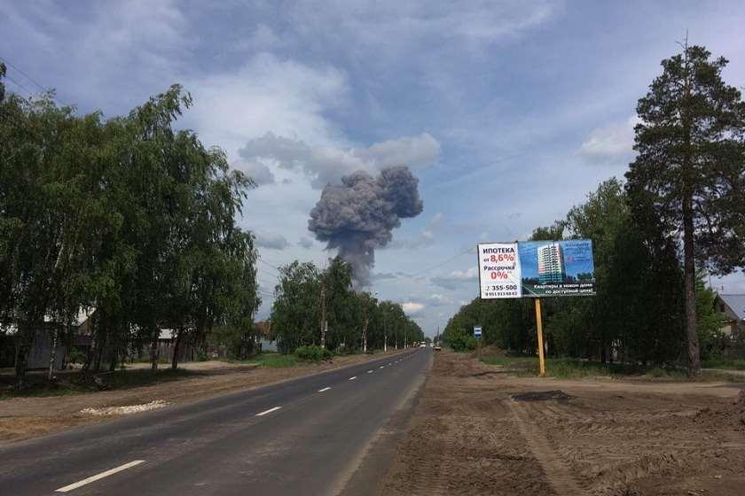 აფეთქება ქალაქ ძერჟინსკში
