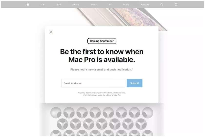 Apple-ის ვებგვერდი