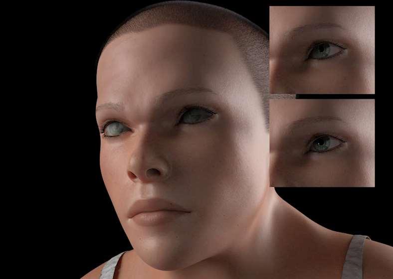 მომავლის ადამიანის 3D-მოდელი