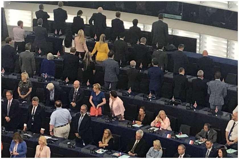 Brexit-ის პარტიის წევრები ევროპარლამენტში