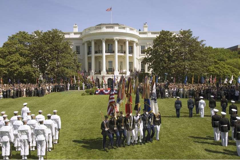სამხედრო აღლუმი ვაშინგტონში