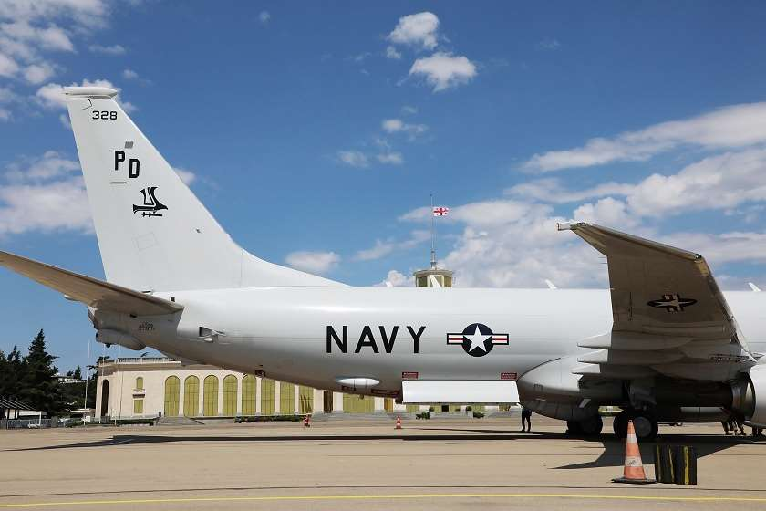 საპატრულო ავიახომალდი P-8 Poseidon-ი