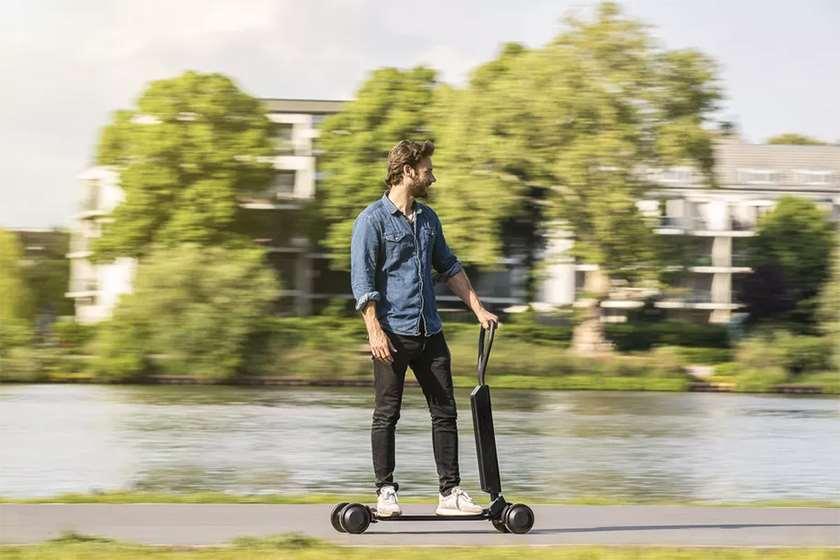 E-tron scooter-ი