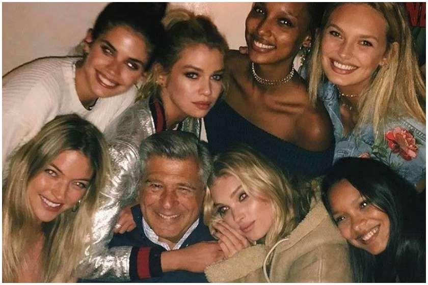 ედ რეზაკი Victoria'sSecret-ის ანგელოზებთან ერთად