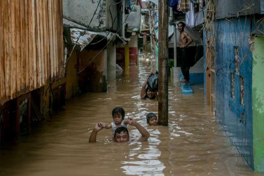 ინდოეთი, წყალდიდობა.