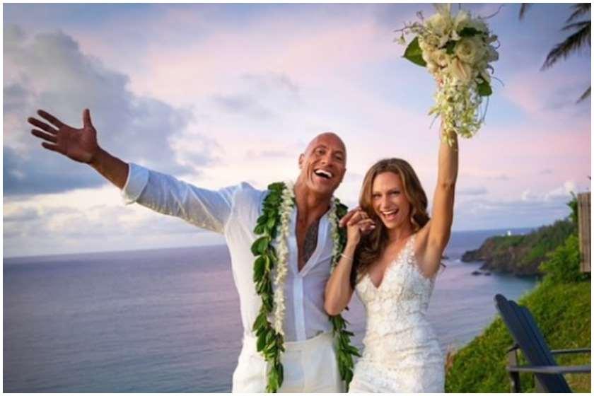 დუეინ ჯონსონი დაქორწინდა