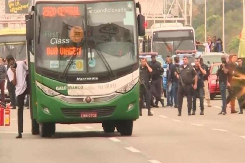 რიო-დე-ჟანეირო ავტობუსის გატაცება
