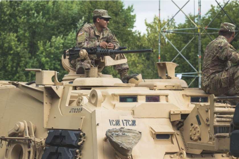 პოლონეთი. აშშ-ის ჯარი