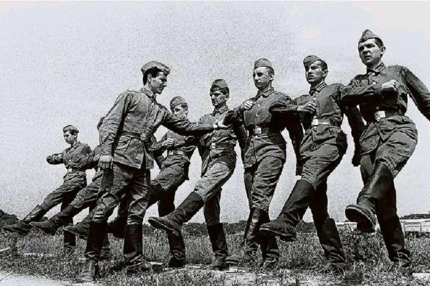 საბჭოთა ჯარისკაცები გერმანიაში, 1990