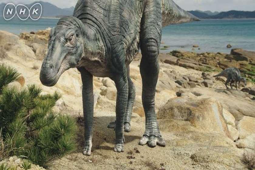 Kamuysaurus japonicus დინოზავრი
