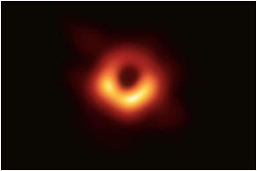 შავი ხვრელი ფოტო