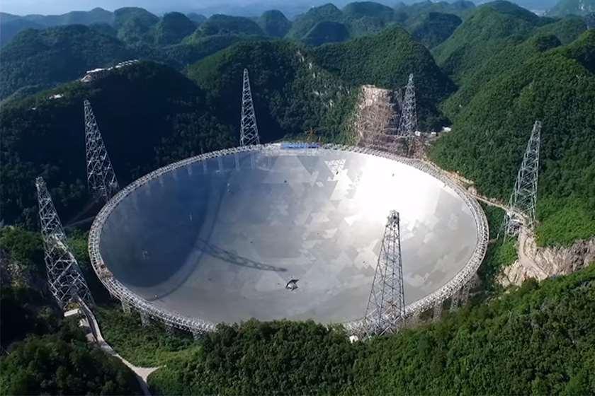 სფერული რადიოტელესკოპიFAST