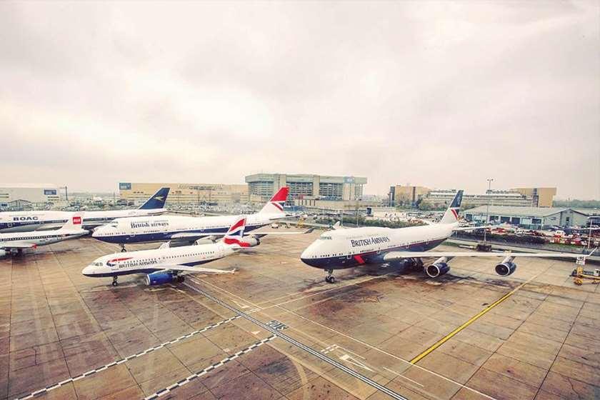 British Airways-ის თვითმფრინავი
